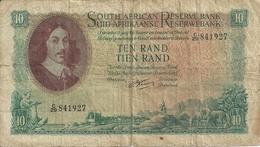 AFRIQUE DU SUD 10 RAND ND1962-65 VG+ P 106 B - Afrique Du Sud