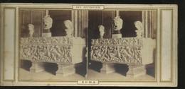 Carte Stereo Rome Sarcophage Et Musques Au Capitole - Piazze
