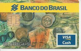 CC160 BRAZIL CARD BANCO DO BRASIL VISA CASH 1997 RARE - Cartes De Crédit (expiration Min. 10 Ans)