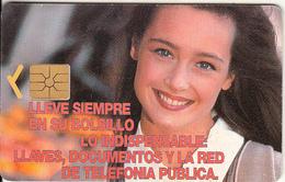 ARGENTINA - Smiling Girl, LIeve Siempre..., Telecom Argentina Telecard, Chip GEM1a, 01/97, Used - Argentinien
