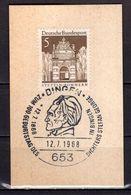 Kartenstueck, Stettin, SoSt Stefan George Bingen 1968 (91929) - BRD