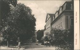 Arnstadt Strassen Partie Am Schloss, Kind & Pferde-Fuhrwerk 1910 - Arnstadt