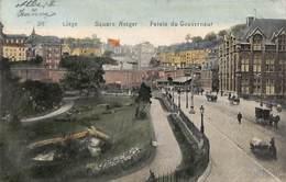 Liège - Square Notger Palais Du Gouverneur (animée Colorisée 1910) - Liège