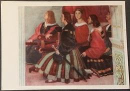 Ak Gemälde , Painting - Messe Von Bolsena - Schweizer Gardisten  - Raffaello  - Museum Vatikan - Peintures & Tableaux