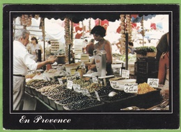 Belle CPM Marché Provence Ail Olive Voyagée Maubec 84 Vaucluse - Markets