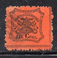APR2636 - STATO PONTIFICIO 1868 , Sassone N. 26  Usato   (M2200). - Stato Pontificio