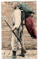 Guerre 1914-18 / La Vie à La Caserne -- Retour De L'Escrime à La Baîonnette. - Kazerne