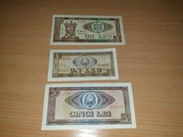 LOT 3 PCS - ROMANIA MOLDOVA - Vrac - Billets