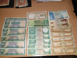 LOT - 20 PCS - HONG KONG MACAU - Münzen & Banknoten