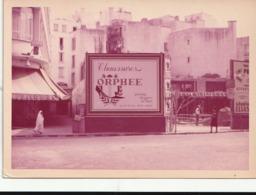 Photographie. Maroc. Casablanca. Panneau Publicitaire Chaussures Orphée. Etat Moyen. Rousseurs. Petit Pli. - Objects
