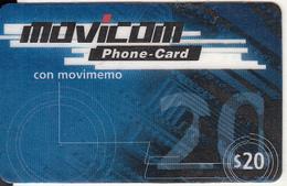 ARGENTINA - Movicom Prepaid Card $20, Exp.date 12/00, Used - Argentinien