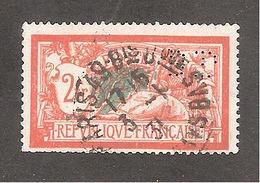 Perforé/perfin/lochung France Merson No 145 BP Banque De Paris Et Des Pays Bas (143) - Gezähnt (Perforiert/Gezähnt)