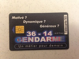 Télécarte Gendarmerie - Polizia