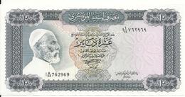 LIBYE 10 DINARS ND1972 AUNC P 37 B - Libya