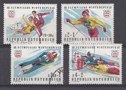 Autriche 1975 Mi.Nr: 1499-1502  Olympische Winterspiele  Oblitèré / Used / Gebruikt - 1945-.... 2ème République