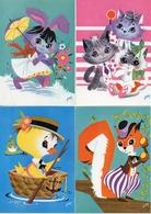 Auphan Montassut, Nos Amis X 7 Animal Humanisé - Altre Illustrazioni