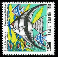 Brazil 1969 Angel Fish Unmounted Mint. - Brasilien