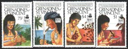 Saint Vincent And The Grenadines. 1989. 644-51 From The Series. 500 Discovery Of America, Indians. MNH. - St.Vincent E Grenadine
