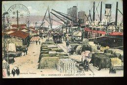 Bordeaux Animation Des Quais Delbey Vers 1918 - Bordeaux