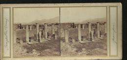 Carte Stereo.^pompei Temple De Venus - Pompei