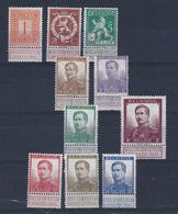 COB 122 Pellens Avec D'autres Valeurs, XX - 1912 Pellens