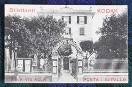 Carte Publicitaire Du Photographe Fotografo Ramondini à Rapallo, Pub Kodak - Italië
