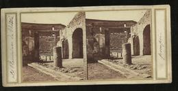 Carte Stereo.^pompei  La Proscenum  Du Theatre - Pompei