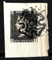 529 - GREAT BRITAIN - 1840 - PENNY BLACK -  FORGERY - FAUX - FAKE - FALSE - FALSCH - Briefmarken