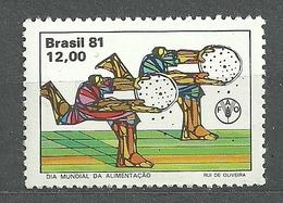Brazil, 1981 (#1869a), World Food Day , FAO, Welternährungstag, Giornata Mondiale Dell'alimentazione - 1v - ACF - Aktion Gegen Den Hunger