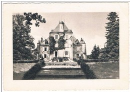 MAGNAT - LESTRANGE .23. Chateau Du Bost .1959 . - Altri Comuni