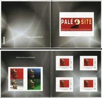 FRANCE 2015 Paleosite Experience Prehistoric Neanderthal Skull Skulls Complete Booklet Carnet S/A MNH - Prehistory