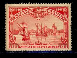 ! ! Portuguese Africa - 1898 Vasco Gama 5 R - Af. 02 - No Gum - Afrique Portugaise