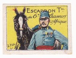 Vignette Militaire Delandre - Escadron Territorial Du 6ème Chasseurs D'Afrique - Vignettes Militaires