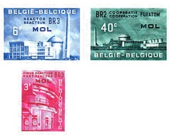 Ref. 84151 * MNH * - BELGIUM. 1961. EURATOM. MOL NUCLEAR PLANT . EURATOM. CENTRAL NUCLEAR DE MOL - Nuovi