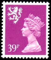 Scotland 1971-93 39p Bright Mauve Perf 14 Litho Questa Unmounted Mint. - Regional Issues