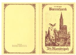 MENU LE GRUBER STRASBOURG - Menus