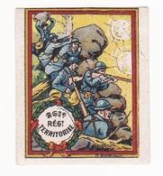 Vignette Militaire Delandre - 261ème Régiment Territorial D'infanterie - Military Heritage