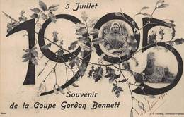 CPA 5 Juillet 1905 - Souvenir De La Coupe Gordon Bennett - Postcards