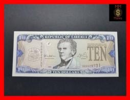 LIBERIA 10 $  1999  P. 22  UNC - Liberia