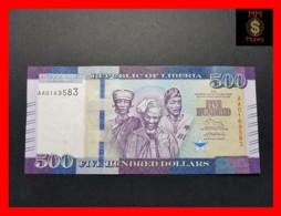 LIBERIA 500 $  2016  P. 36  UNC - Liberia
