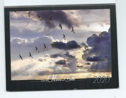 CALENDRIER DE POCHE 2 VOLETS ANNÉE 2020( Que La Nature Est Belle) - Calendars