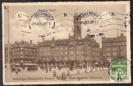 1923 Denmark - Kopenhagen Postcard / Maxicard Posted To Zagreb - Forsirkrings, - Lettres & Documents