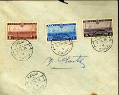 EGYPTE LE CAIRE 1938 Sur Enveloppe Non Voyagée - Egypt