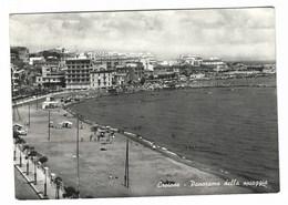 4386 - CROTONE PANORAMA DELLA SPIAGGIA ANIMATA 1964 - Crotone