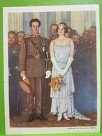 30. LL. MM. Le Roi Et La Reine Assistent Au Gala De La.. Liège Chocolat Aiglon, Photogravure 13x18. - Aiglon