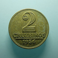 Brazil 2 Cruzeiros 1956 - Brasile