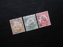 D.R.Mi 22/23c/24 - Deutsche Kolonien ( Deutsch-Ostafrika ) 1905/1919 - Mi 11,20 € - Kolonie: Deutsch-Ostafrika