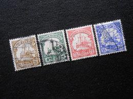 D.R.Mi 30 L/31/32a/33b - Deutsche Kolonien ( Deutsch-Ostafrika ) 1905/1920 - Mi 5,80 € - Colonia: Africa Oriental