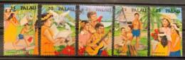 PALAU - MNH** - 1990 - # 249/253 - Palau