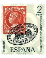 Ref. 84766 * MNH * - SPAIN. 1970. WORLD DAY OF THE STAMP . DIA MUNDIAL DEL SELLO - Treni